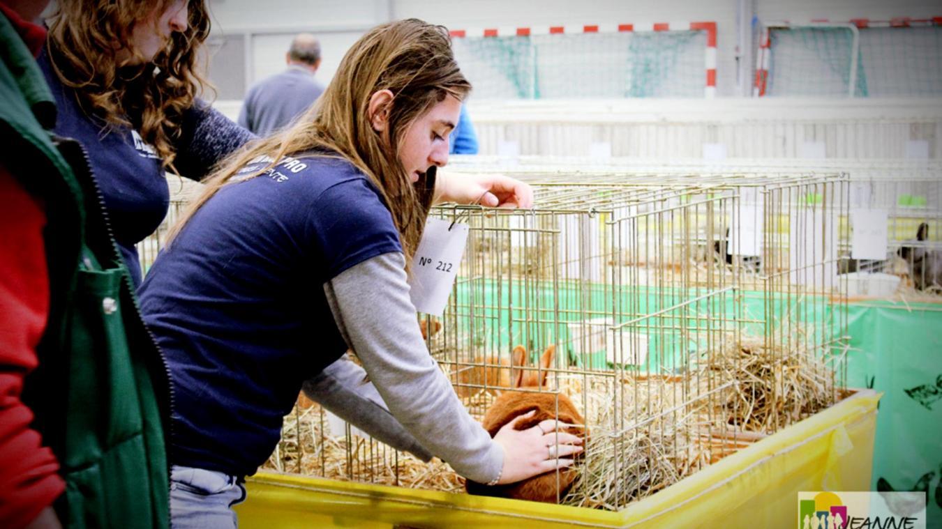 Le salon avicole à la découverte des élèves du lycée Antide.