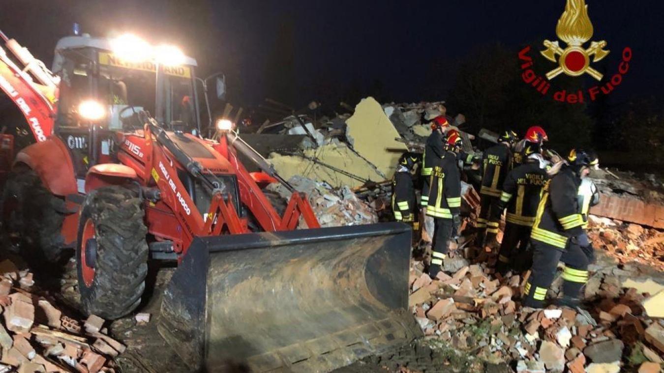 Trois pompiers ont été tués dans la nuit du 4 au 5 novembre dans le Piémont. Ils intervenaient dans un local inhabité après le signalement d'une fuite de gaz. La justice italienne n'exclut pas un acte criminel.