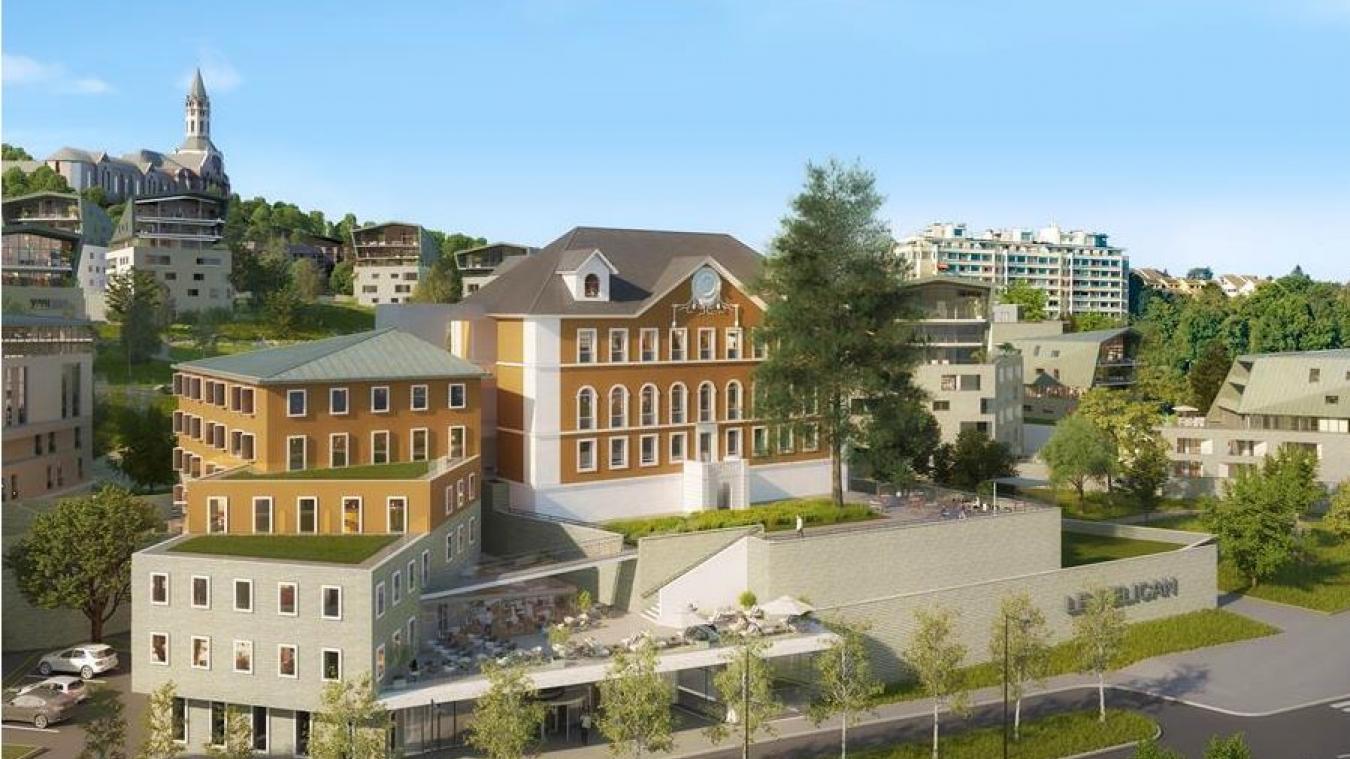 Les travaux de l'hôtel s'étendront jusqu'au second semestre 2021. Photo : groupe PVG.