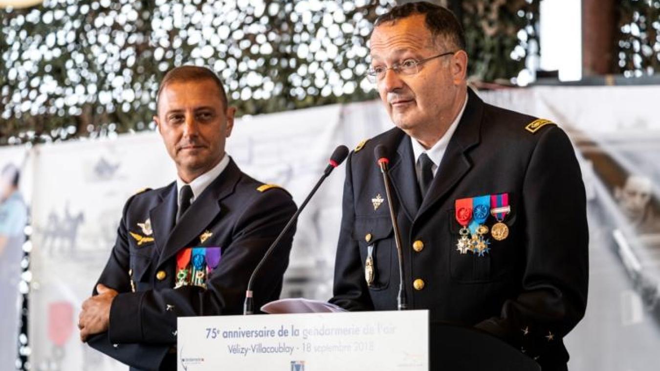 Christian Rodriguez, ici à droite, est marié et père de deux enfants. Fils de gendarme, il partage aujourd'hui cet engagement au service de la France avec son frère, également en activité de service comme sous-officier. Photo : Anorgend.