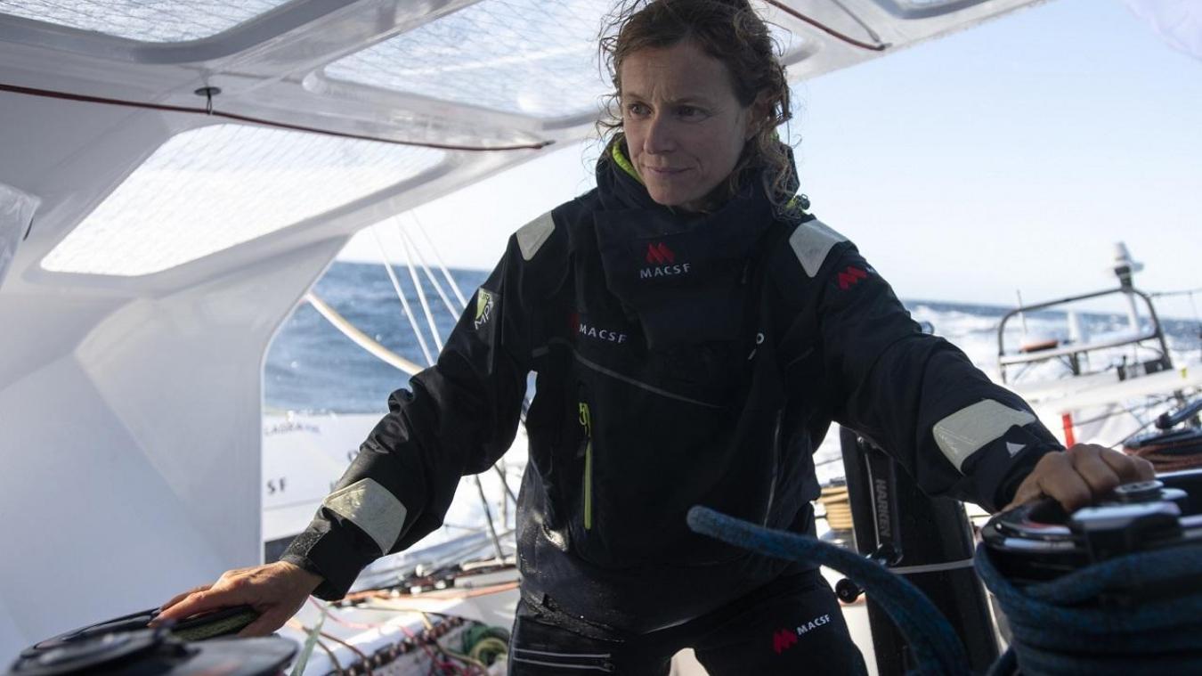 La navigatrice gessienne Isabelle Joschke.