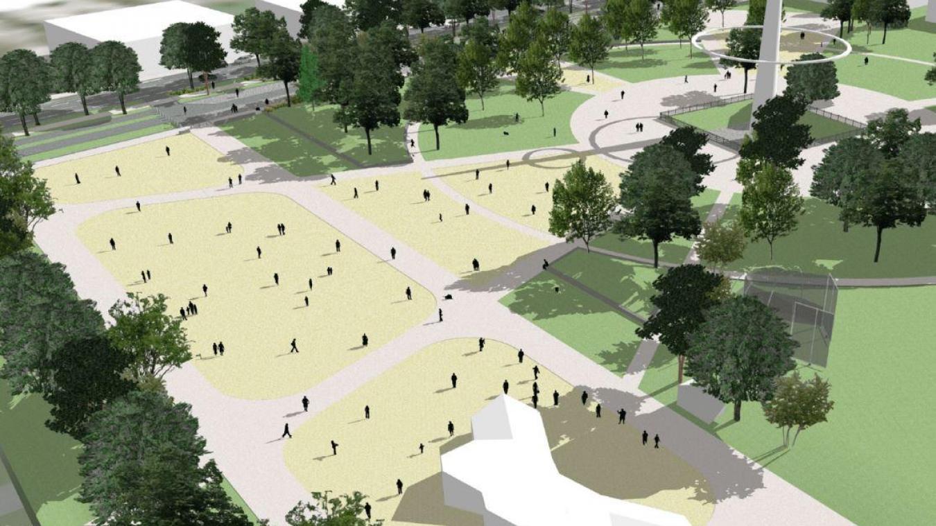 Aire de covoiturage, zone de promenade et agrandissement de la capacité de stationnement sont au programme de la réhabilitation du site.