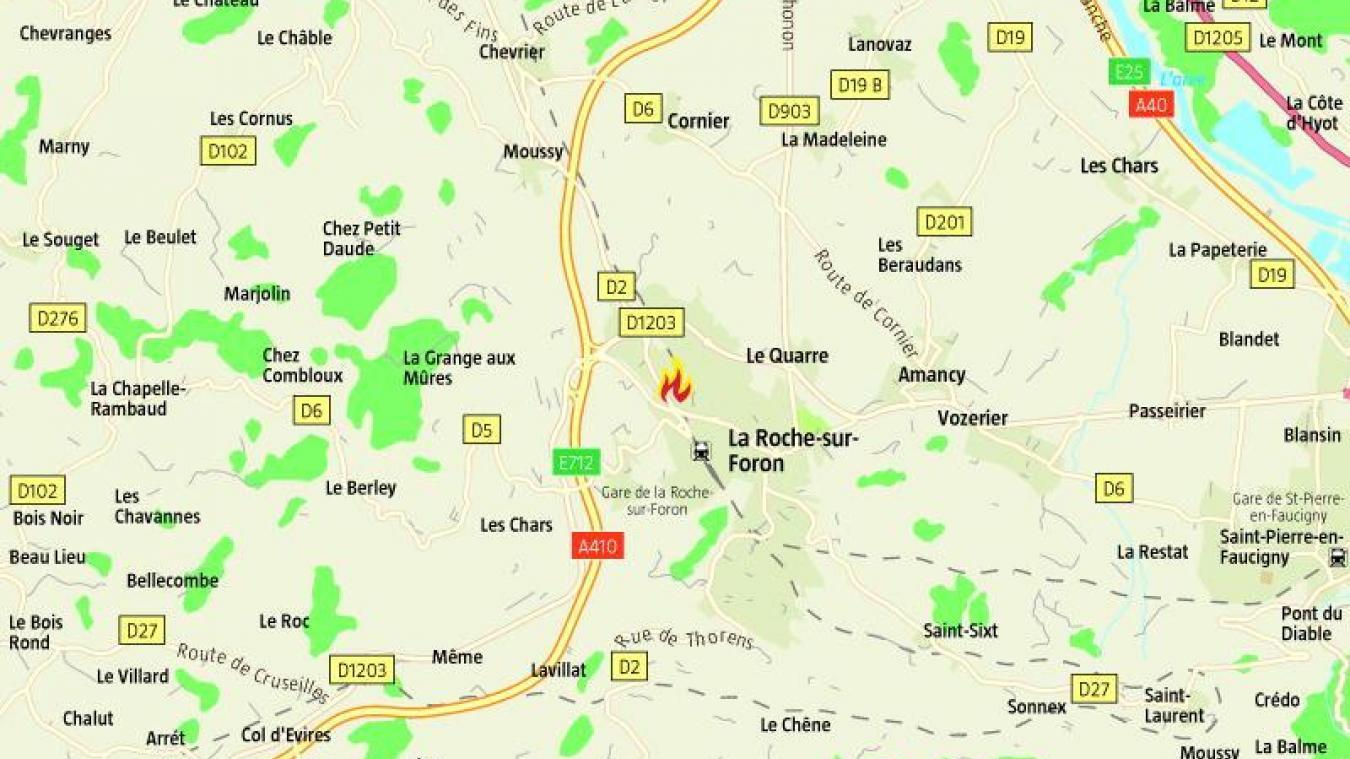 Jeudi 7 novembre, 47 personnes ont été évacuées d'un immeuble à La Roche-sur-Foron en raison d'un feu de paillasson.
