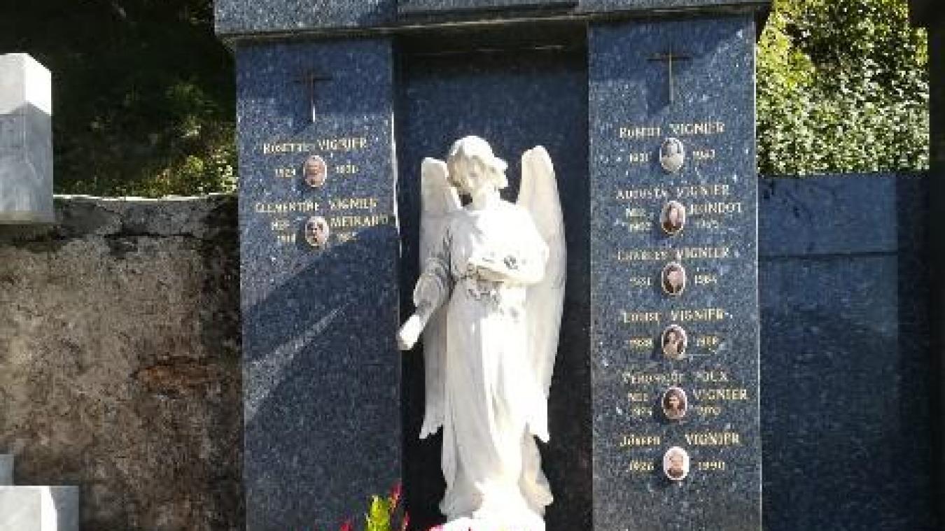 De jolie facture, la sculpture a été volée à la mi-octobre, une plainte a été déposée.