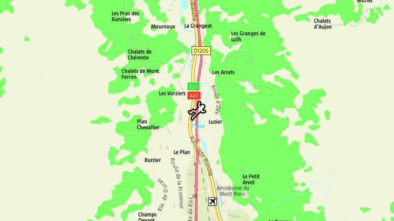 Jeudi 7 novembre, un agent des routes départementales a été fauché par une voiture sur l'avenue de Genève.