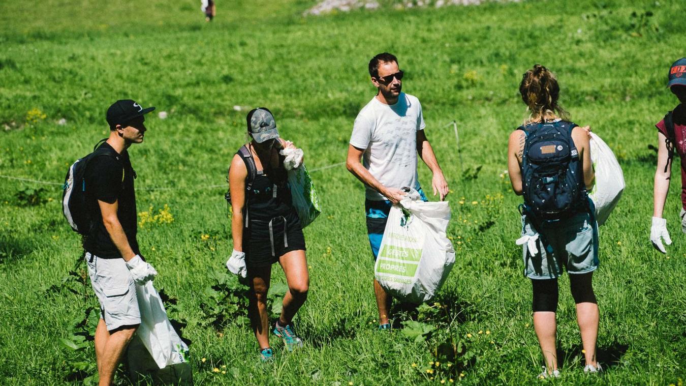 L'association Morzine Montagne Verte avait appelé ses membres à participer à une grande journée de nettoyage en juin.