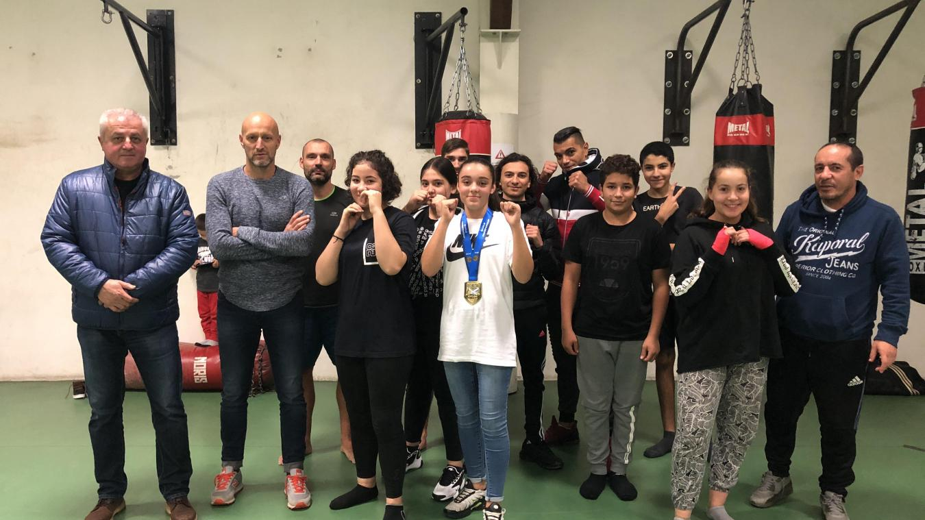Albertville : Shaynes Benteldjoune médaillée d'or aux championnats du monde de kickboxing !