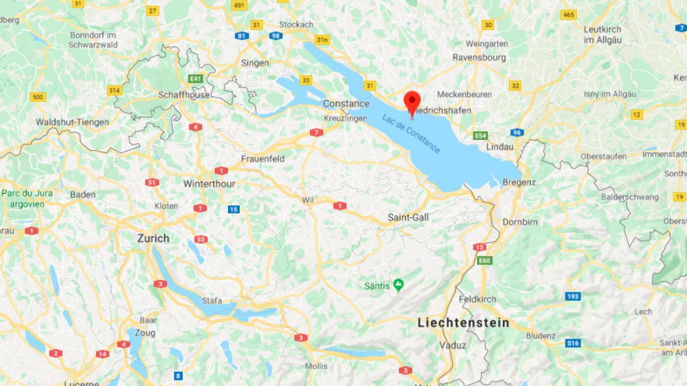 Vendredi 8 novembre, la police du canton de Thurgovie (Suisse) a repêché le cadavre d'un homme qui flottait à la surface du lac de Constance.