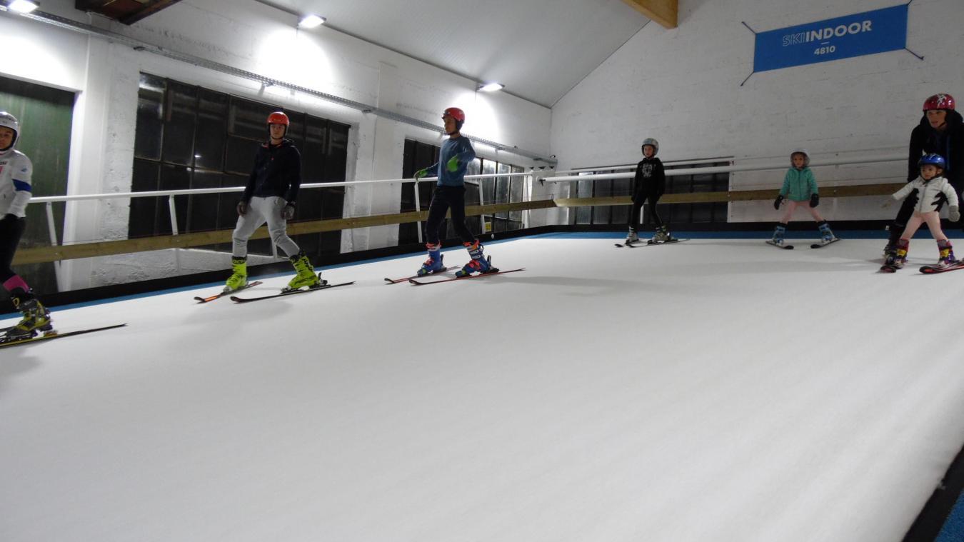 Ski indoor 4810, un concept crée par Denis Dumax-Baudron, un champion de ski Passerand.