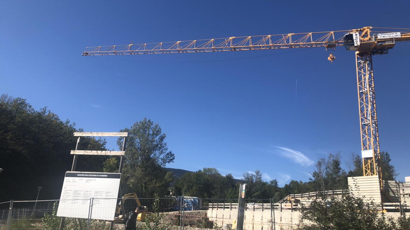 A Valserhône, la Semcoda possède plusieurs chantiers  : nouvel Ehpad, quartier du Crédo, la Filature,...