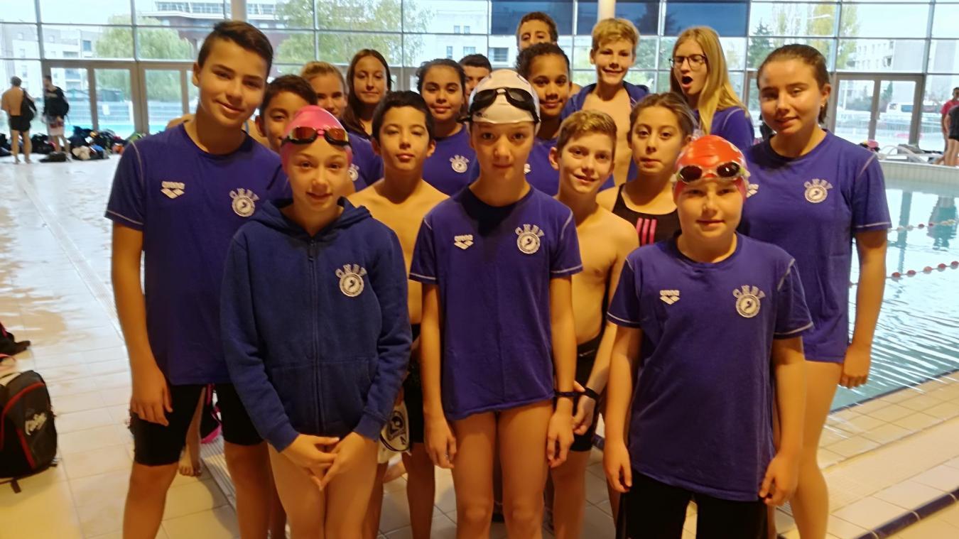 Bellegarde : 20 nageurs aux interrégionaux de Ferney