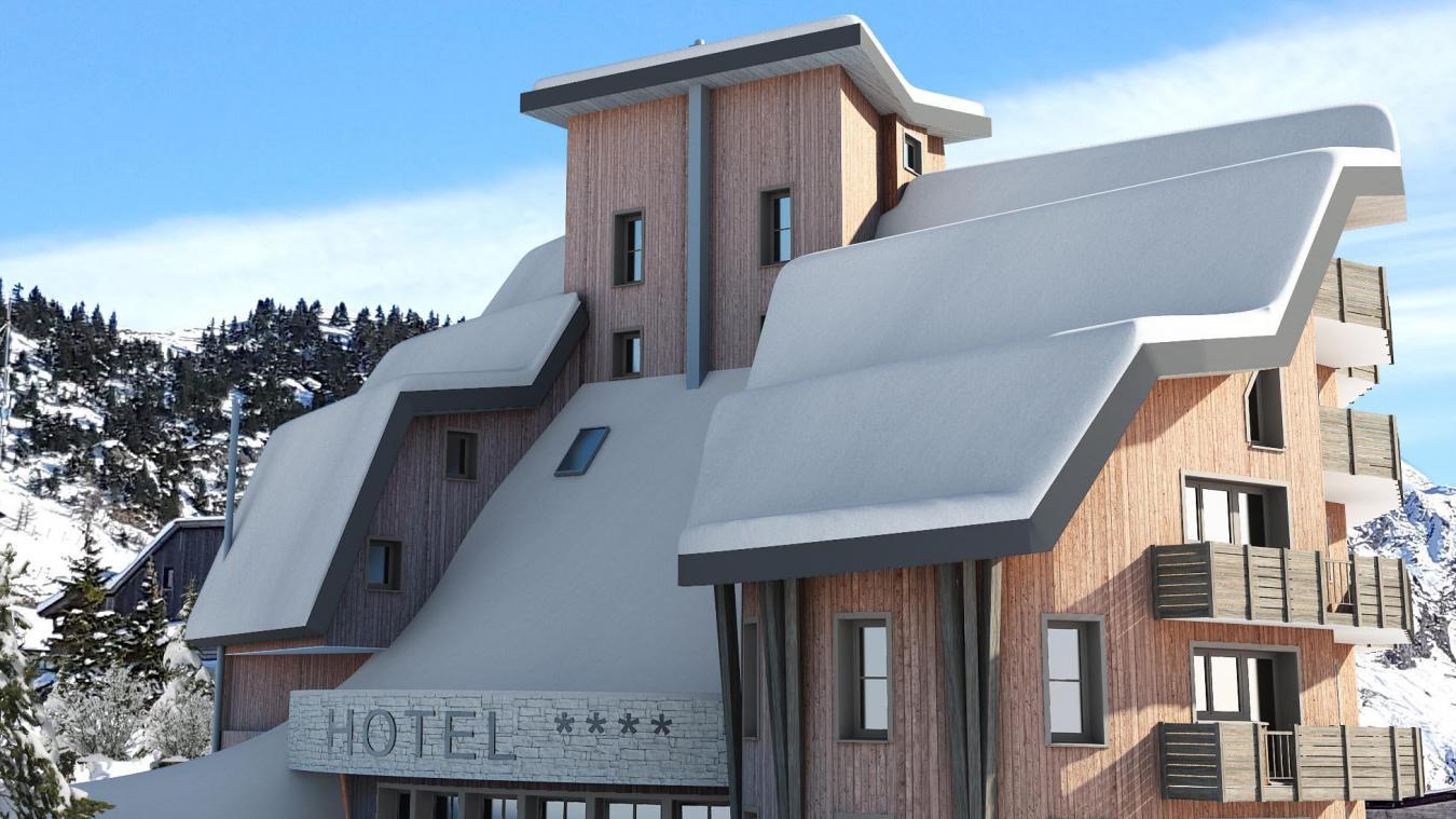 Le nom de l'hôtel fait référence à l'altitude d'Avoriaz, située à 1 800m.