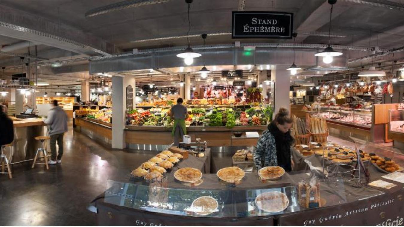 La future halle alimentaire d'Annemasse sera composée d'une vingtaine de stands et d'espaces de dégustation. (Photo d'illustration)
