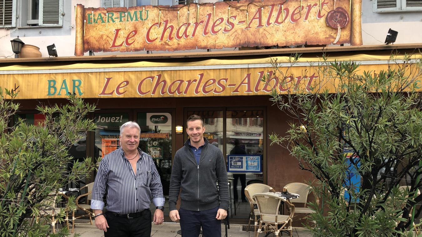 Le père et le fils, un duo de choc pour organiser l'événement annuel des Adoubes, la fête de la Saint-Albert.