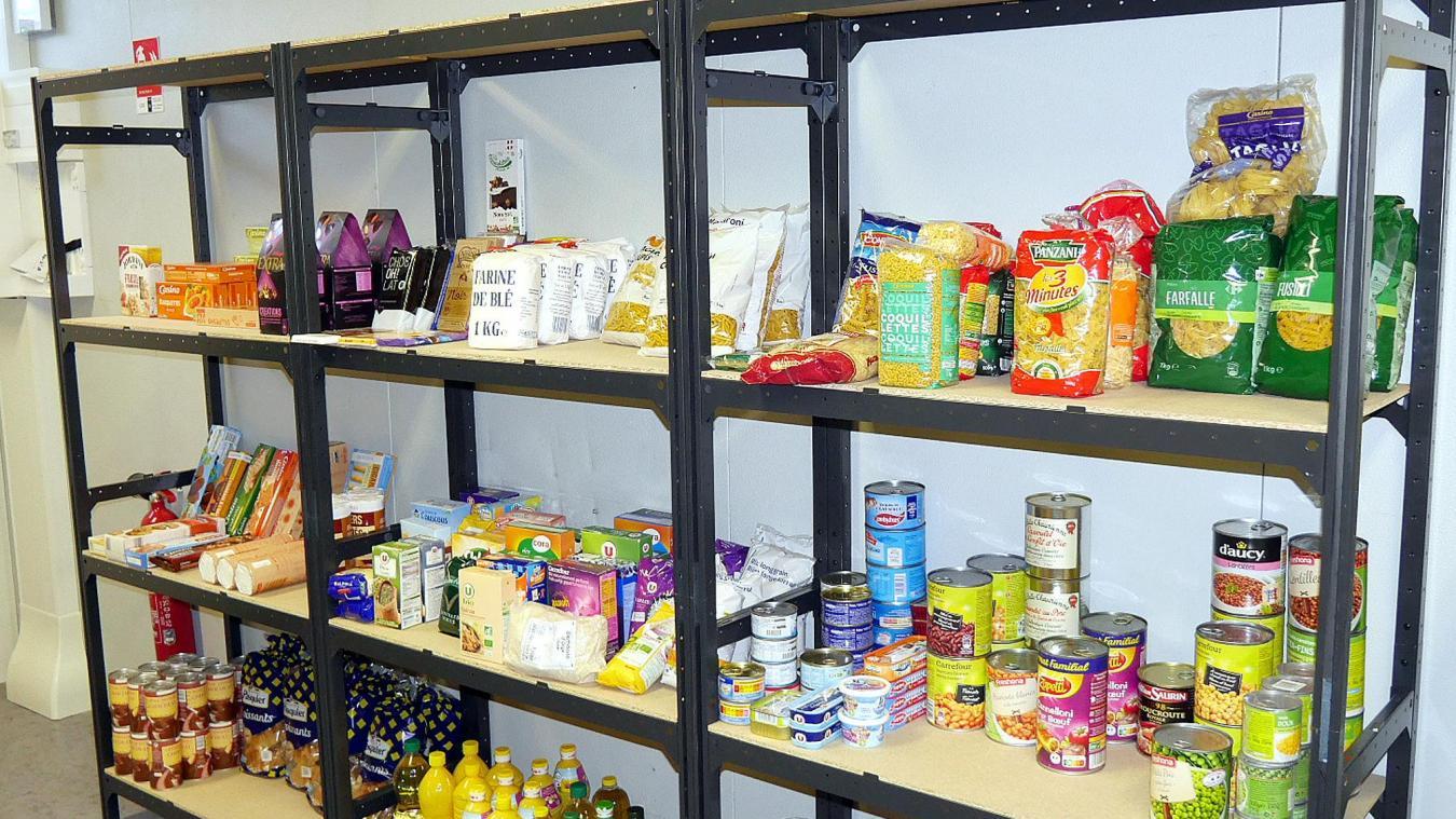 Ouverte tous les quinze jours, le jeudi après-midi, l'épicerie sociale de Reignier propose des produits alimentaires, de toilette, d'entretien et pour bébé à 10 % du prix réel.
