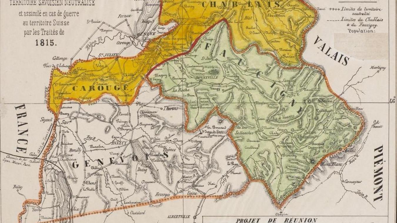 Quand le nord de la Savoie voulait devenir un canton ...