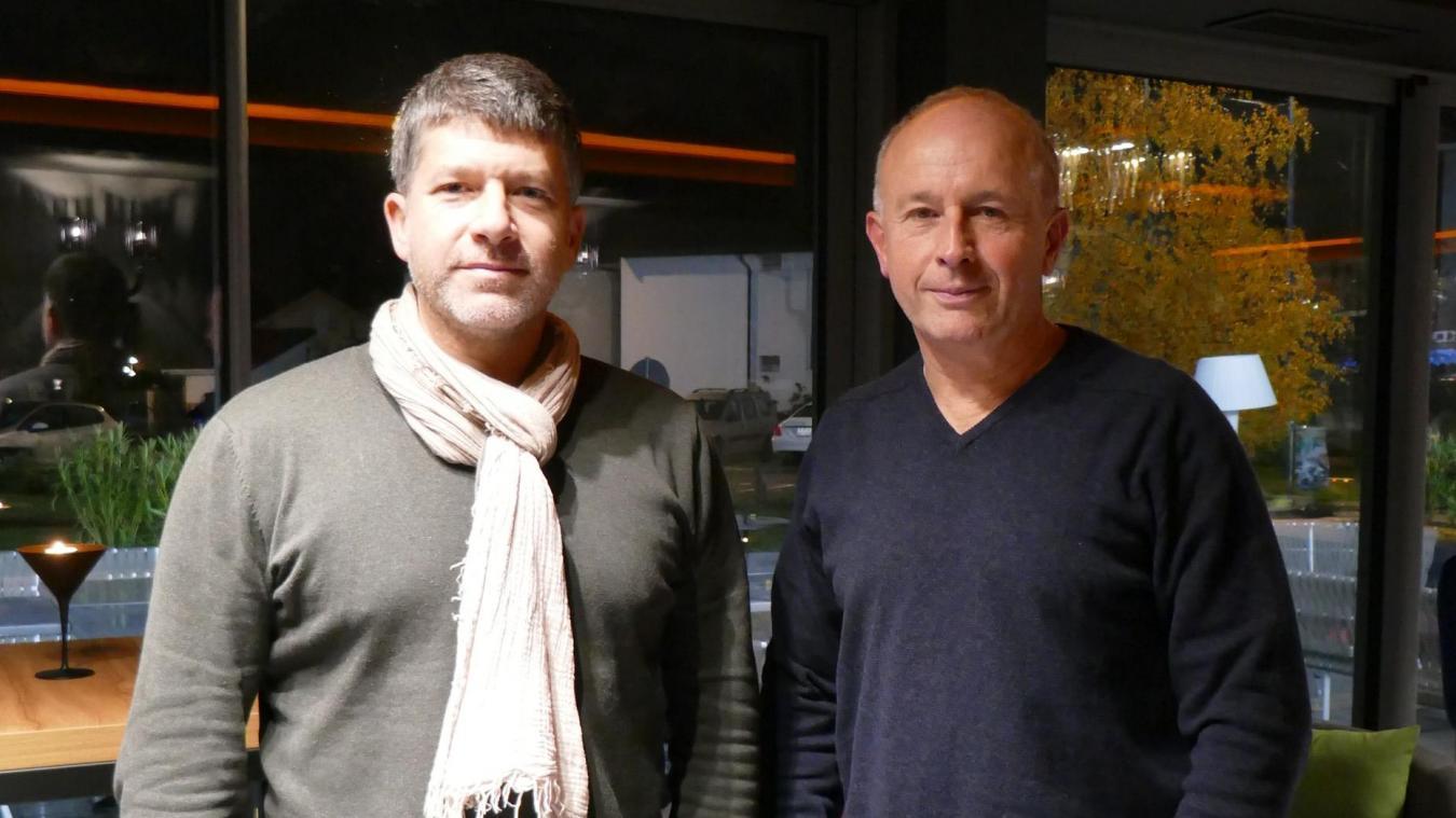 Sébastien Diez, président et Philippe Lhorte, vice-président d'AP2VDC.