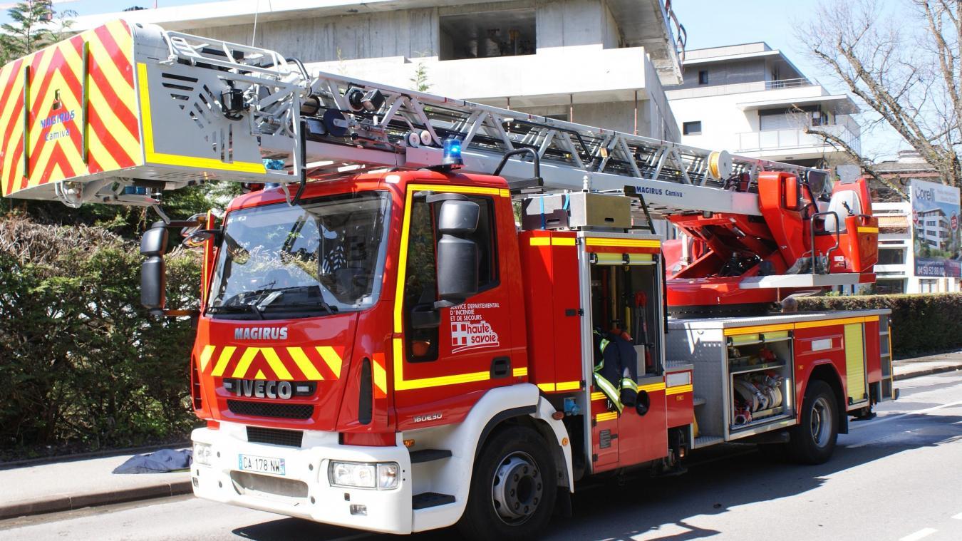 Les pompiers sont rapidement parvenus à maîtriser les flammes. Photo d'illustration