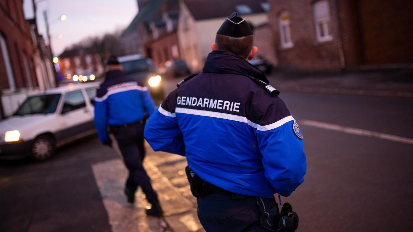 La violente altercation au couteau a eu lieu dans le quartier d'Arlod. (photo d'illustration)