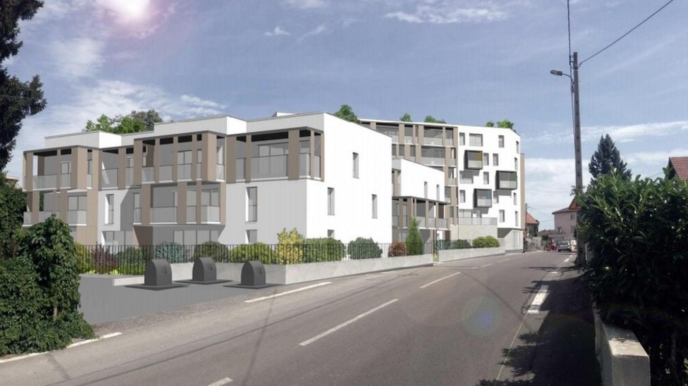 Gaillard: un projet immobilier 100% social qui pense aussi aux étudiants