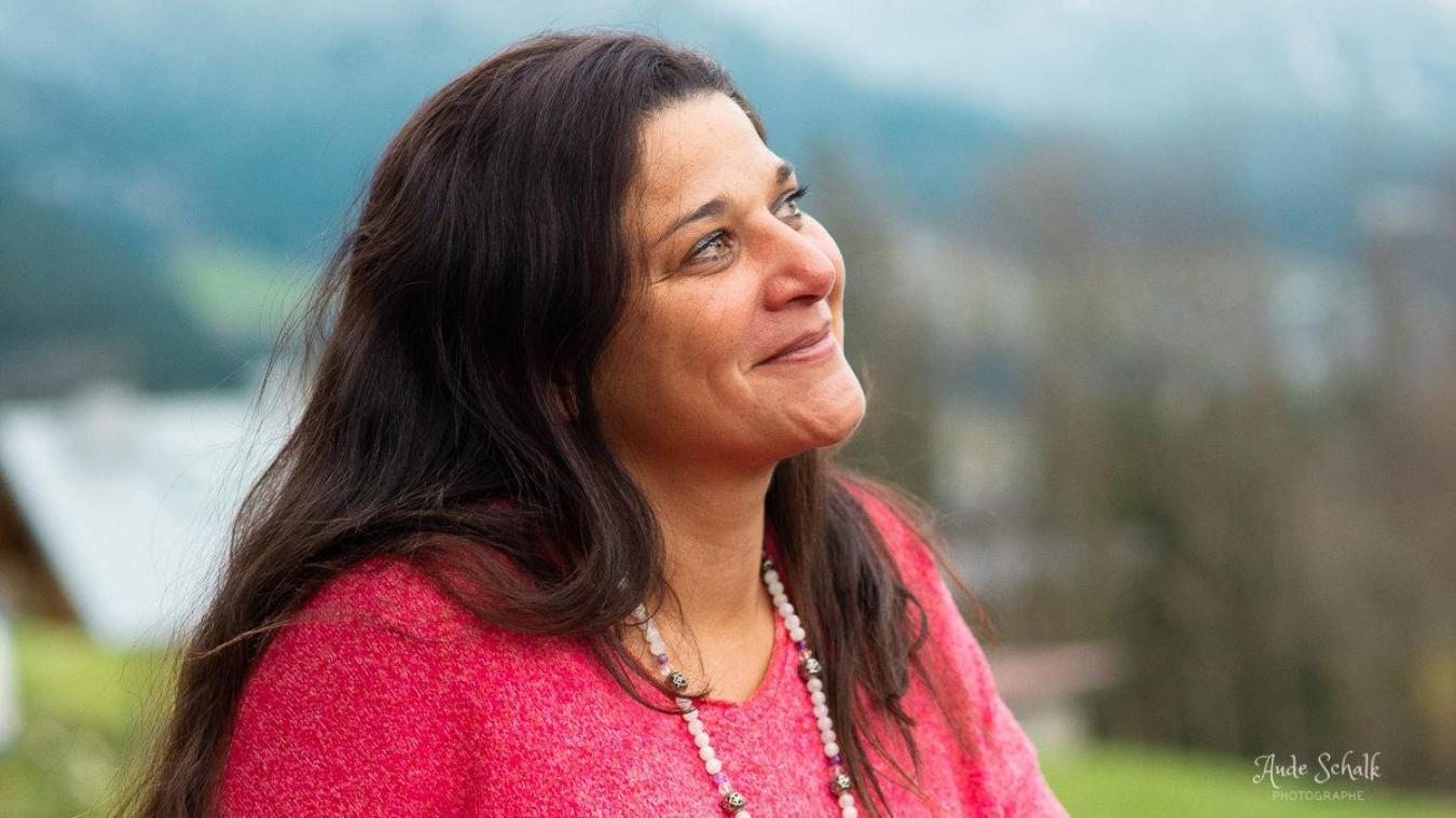 Après 20 ans en tant que thérapeute, Audrey Loups est aujourd'hui la présidente de la société Amedefemme. Photo : DR