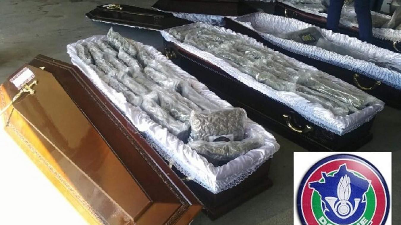65 kilos de cannabis dans des cercueils interceptés par les douaniers — Doubs