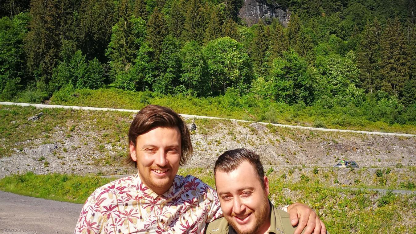 Victor Païs, restaurateur, et Michaël Pachon, professionnel de l'événementiel.