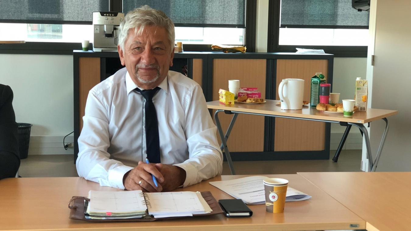 Michel Charrat est le président du Groupement transfrontalier européen (GTE).
