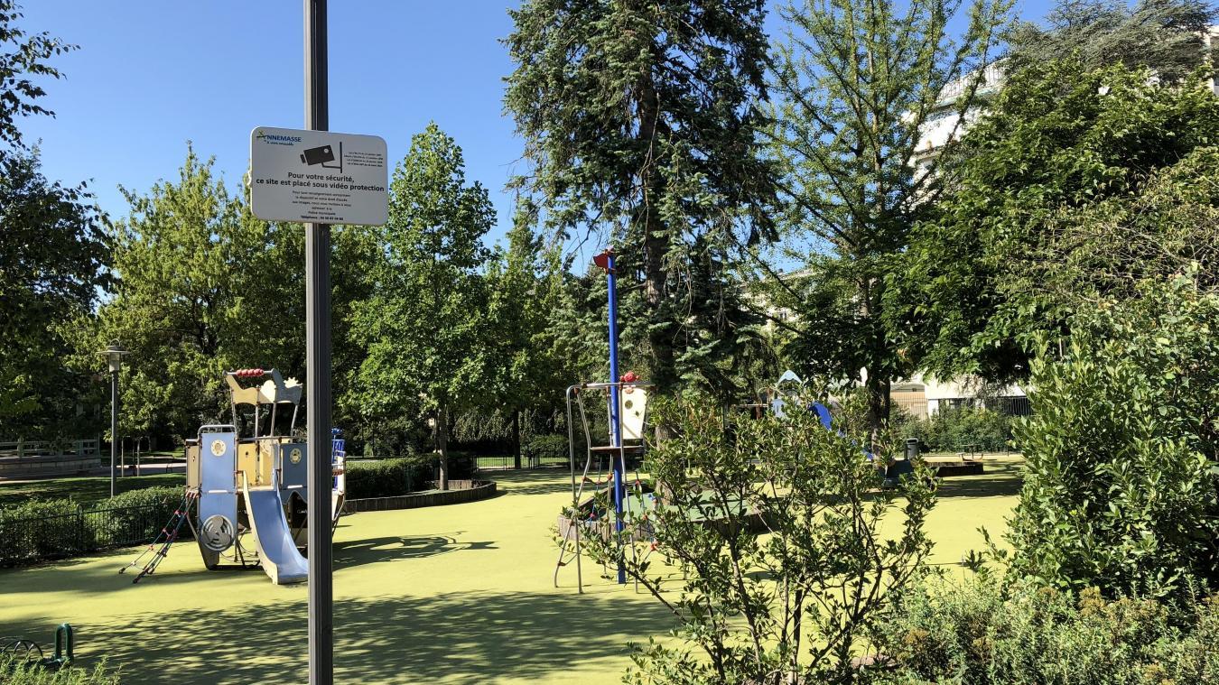 A Annemasse, le parc Montessuit fait partie des endroits quadrillés par le système de vidéo-surveillance à l'heure actuelle.