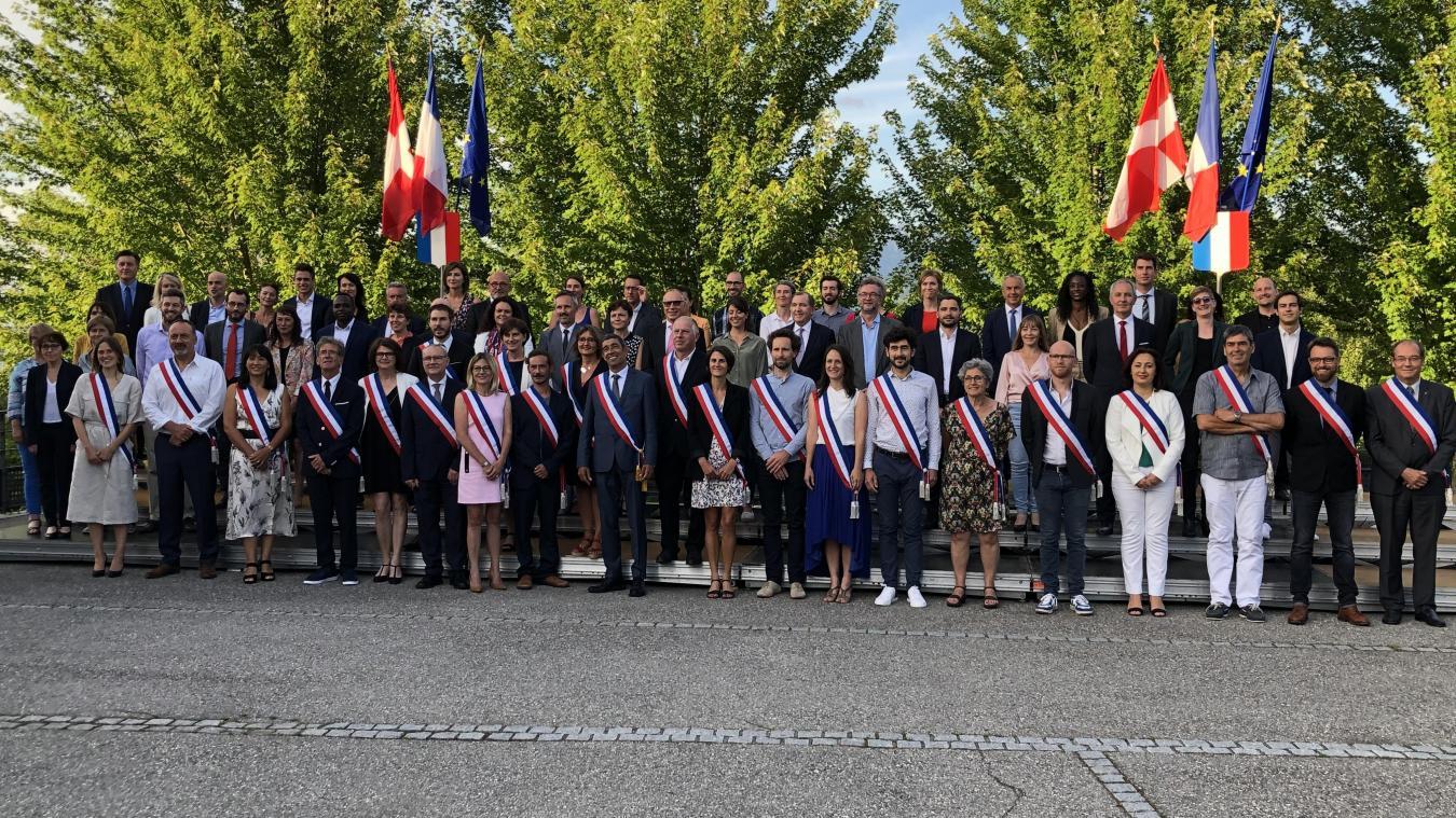 Parmi les 69 élus du conseil municipal de la commune nouvelle d'Annecy, François Astorg a misé sur des nouvelles têtes et sur la jeunesse pour composer sa municipalité.