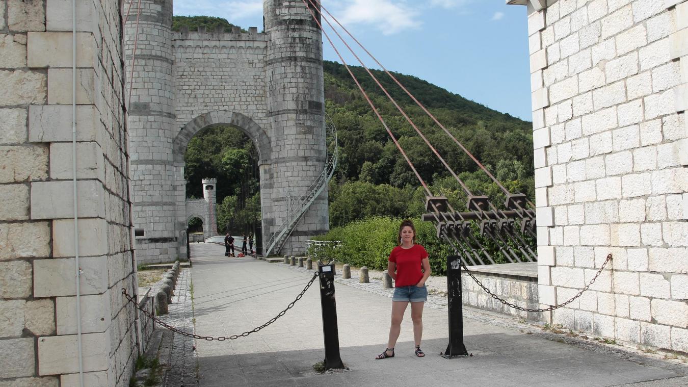Dans le pays de Cruseilles, Amélie Sedita dirige Alter'Alpa depuis deux ans.