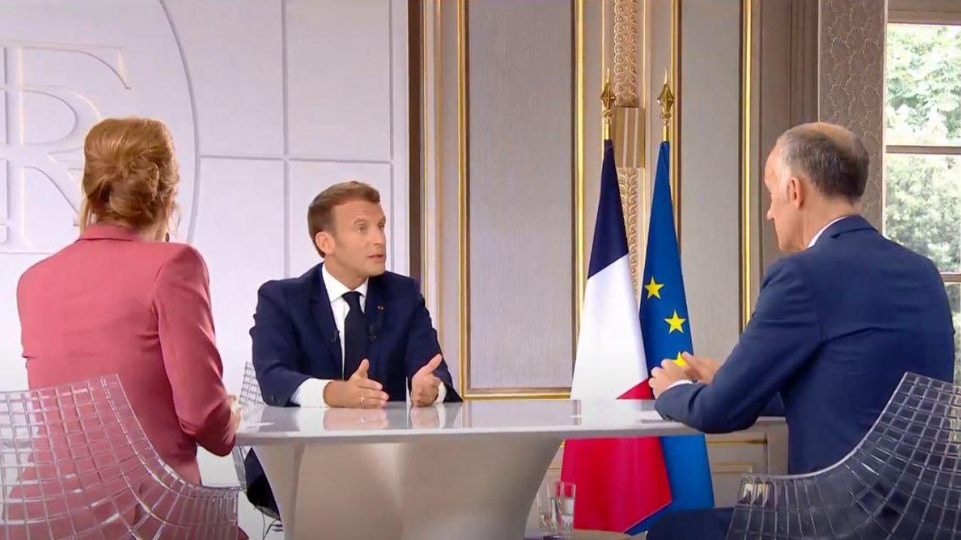 (VIDEO) Interview d'Emmanuel Macron : les 7 infos à retenir