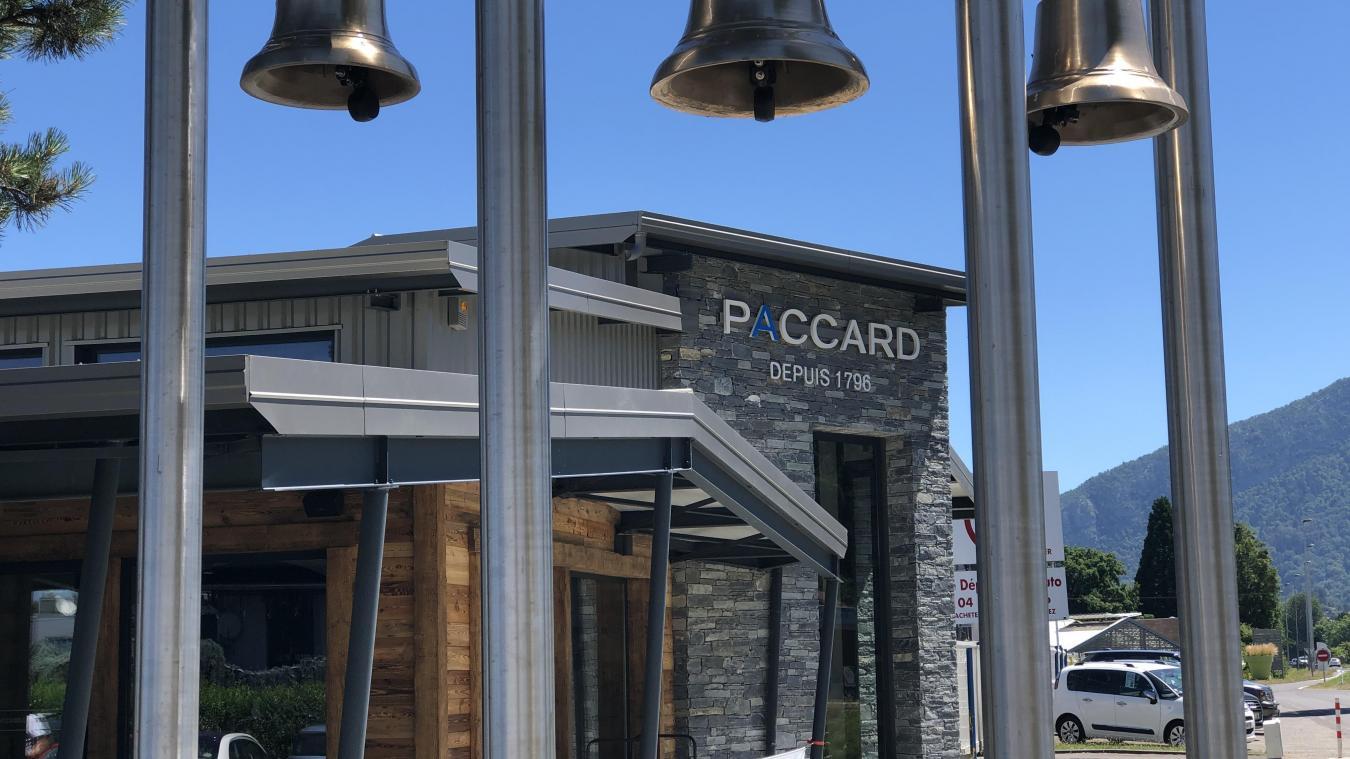 Le musée Paccard vient de faire un gros lifting. Il aménagé 140 m 2  d'espaces supplémentaires, comprenant notamment un café/salon de thé et une salle de concert.