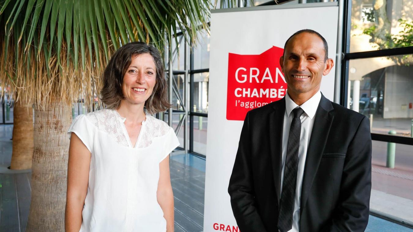 Elu président de Grand Chambéry avec deux voix d'écart, Philippe Gamen a proposé à Aurélie Le Meur de devenir la première vice-présidente.