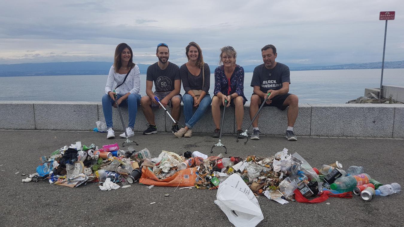 Le plastique, ce fléau que l'on ne veut pas voir sur les plages du Léman