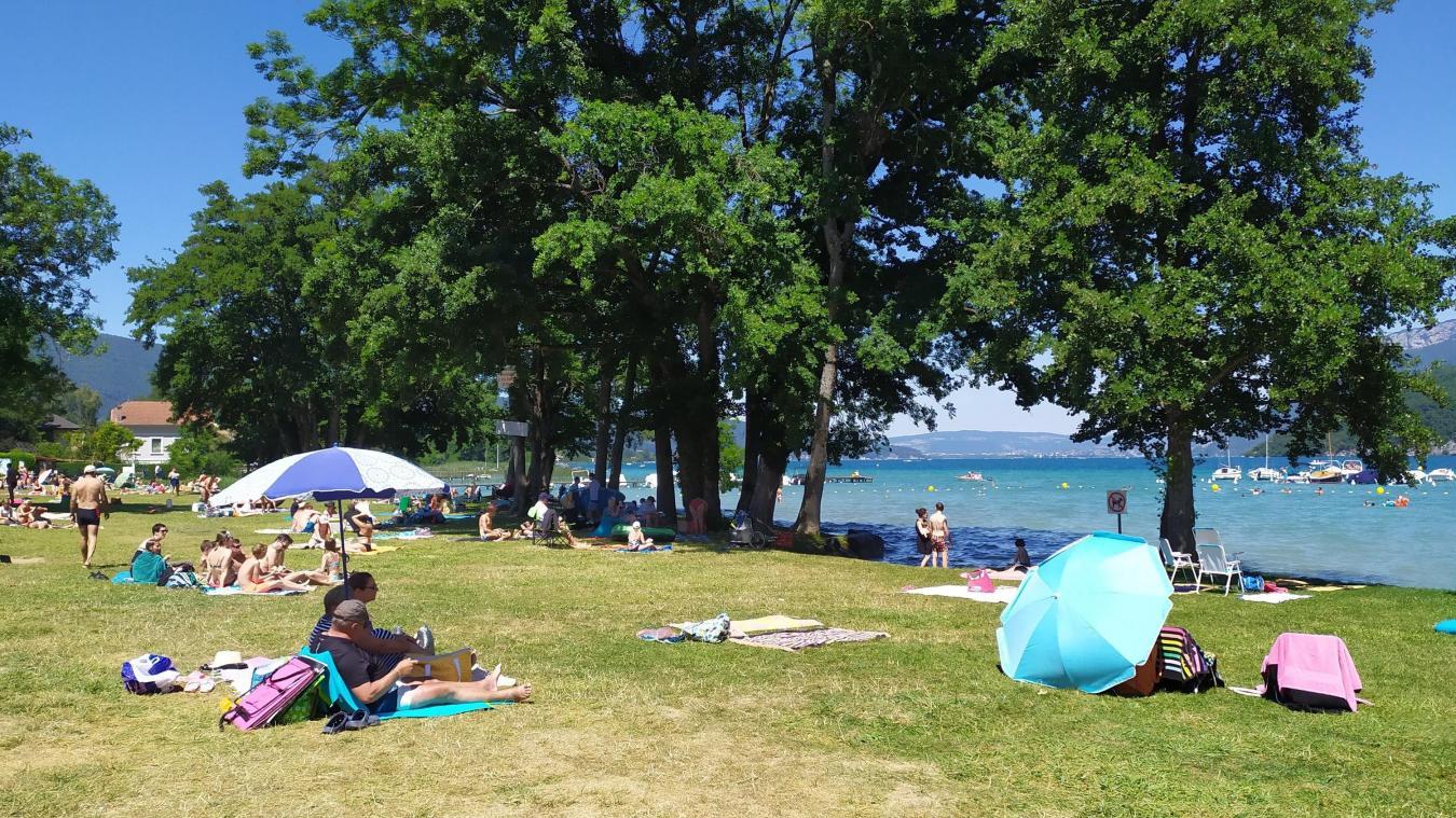 La plage de Duingt ouverte et presque totalement rénovée!