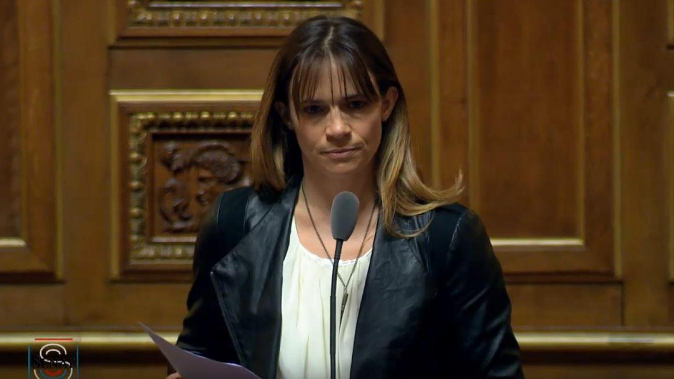 Sylviane Noël se porte candidate à sa réélection comme sénatrice de la Haute-Savoie.