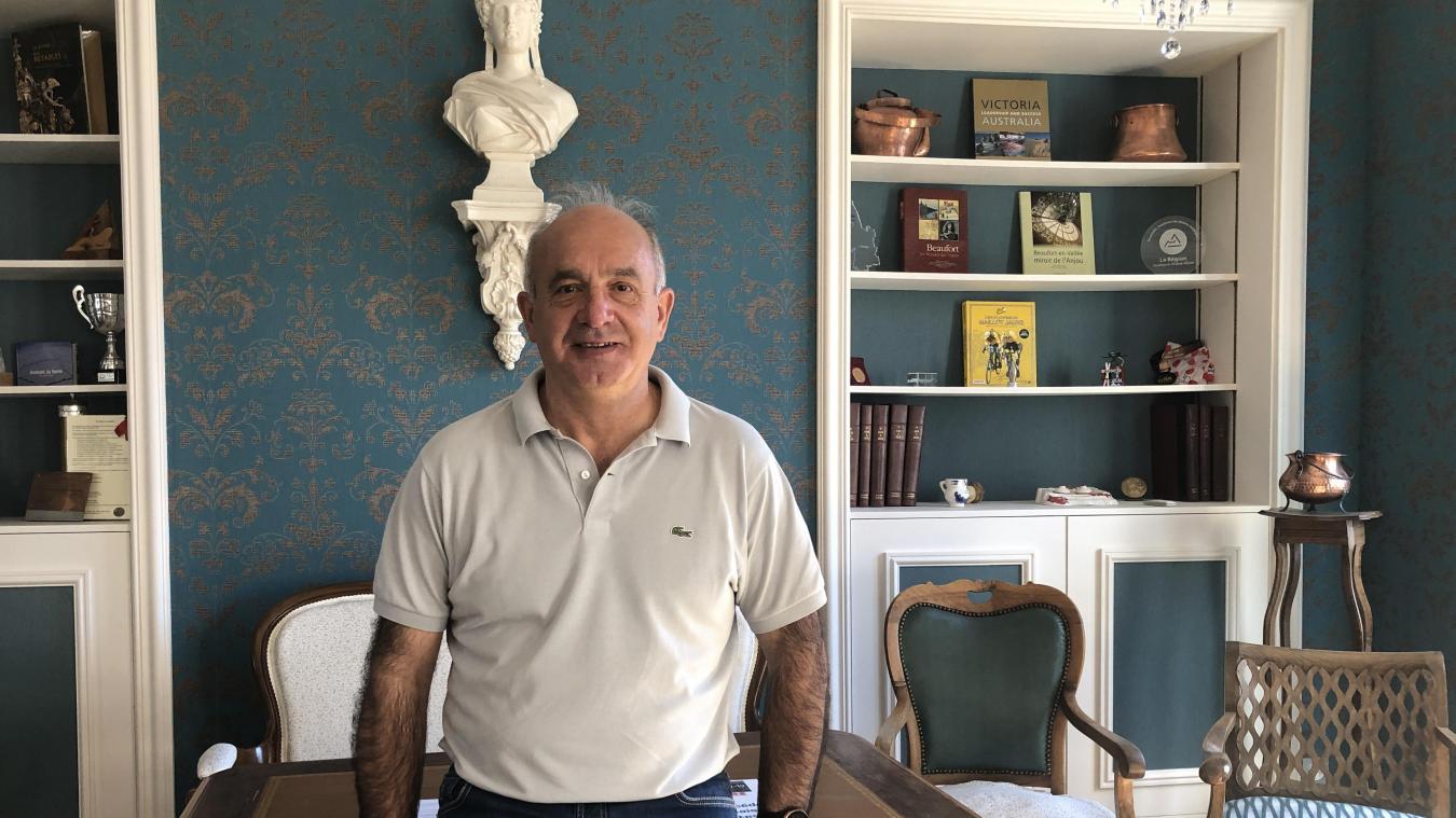Christian Frison-Roche est maire et conseiller délégué au tourisme et aux sentiers à l'agglomération.