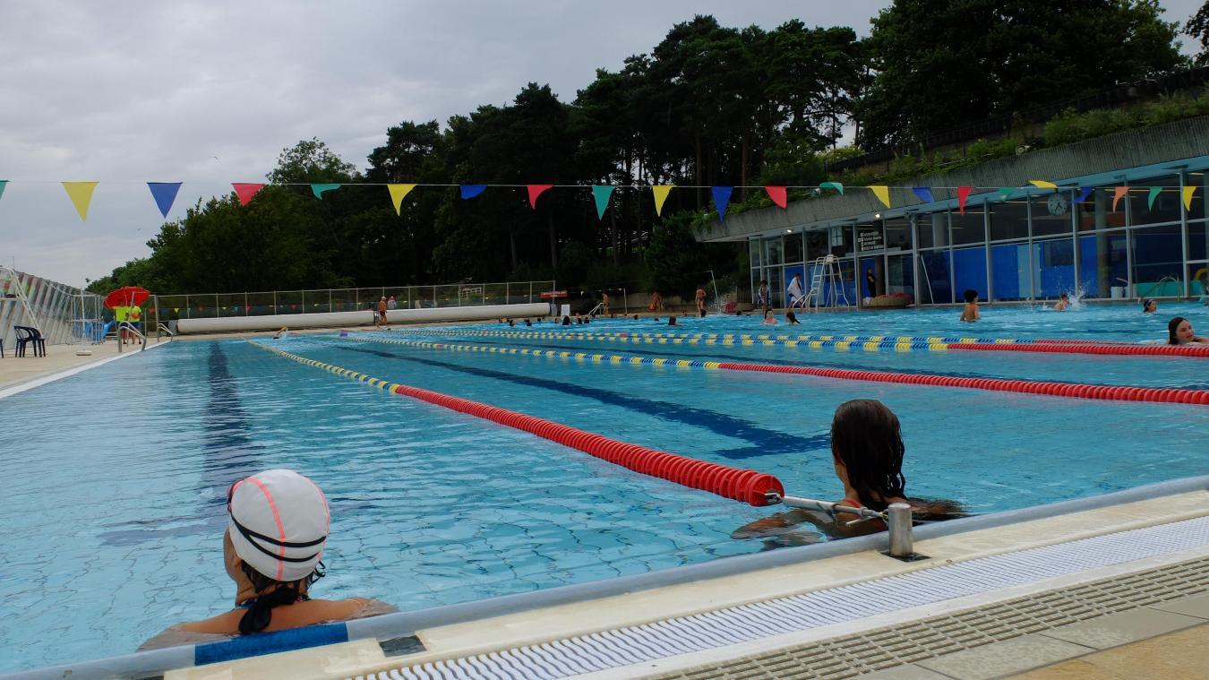 La Plage municipale de Thonon reste pour l'instant dédiée à la seule natation.