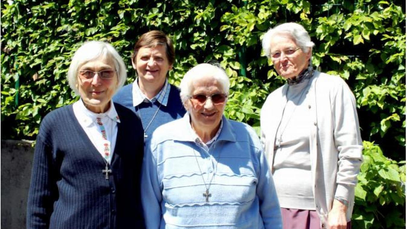 Les quatre religieuses, âgées de 72 à 83 ans, toujours alertes, vont rejoindre d'autres maisons.