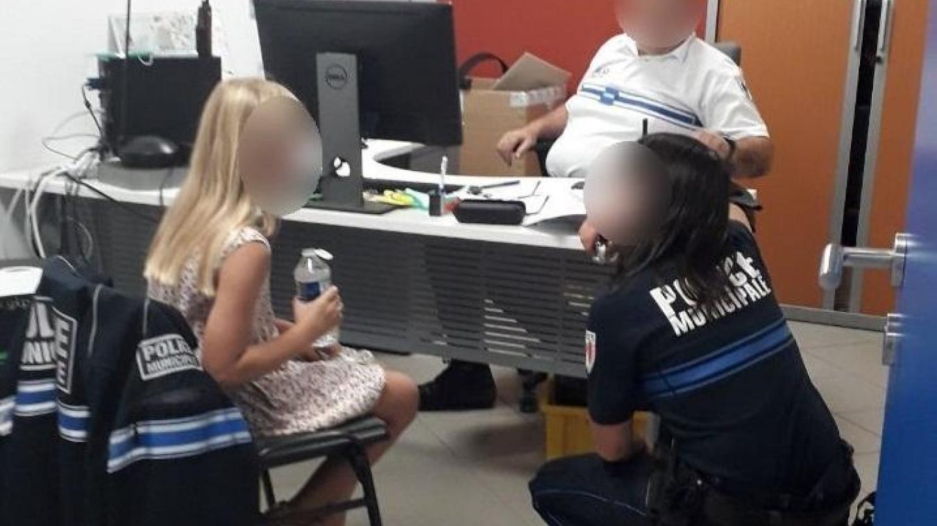 La fillette disparue a pu être ramenée dans les locaux de la police municipale de Chambéry.