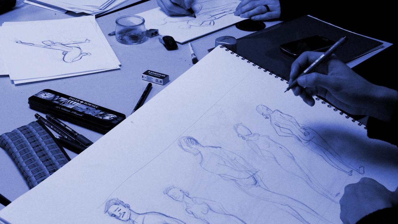 Pendant 3 mois, les artistes vont travailler sur leurs visuels.
