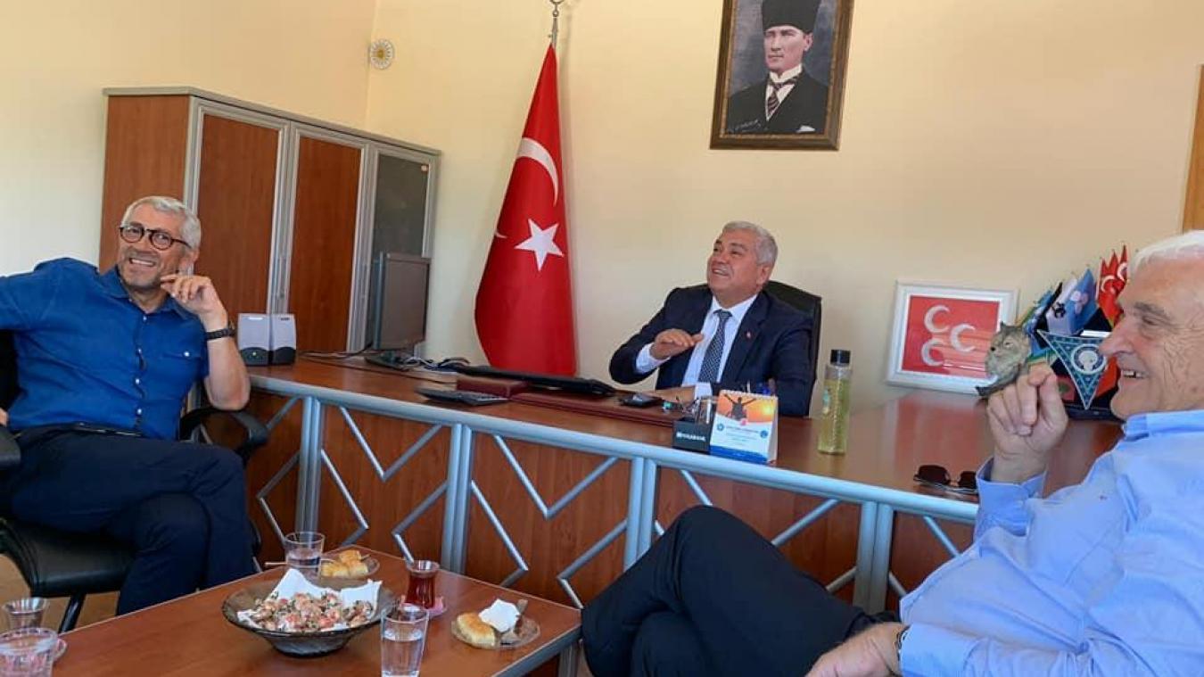 Christian Heison et Pierre Blanc, en Turquie, à l'été 2019.