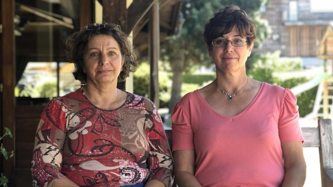 Marie-Reine Lafitte et Martine Gimenez ont décidé de se mobiliser pour que le métier d'aide-soignante à domicile s'effectue dans des conditions plus favorables.