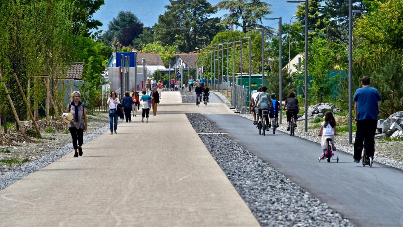 La mobilité à Genève continue à faire débat et reste un sujet majeur de la gouvernance du canton.© DRK