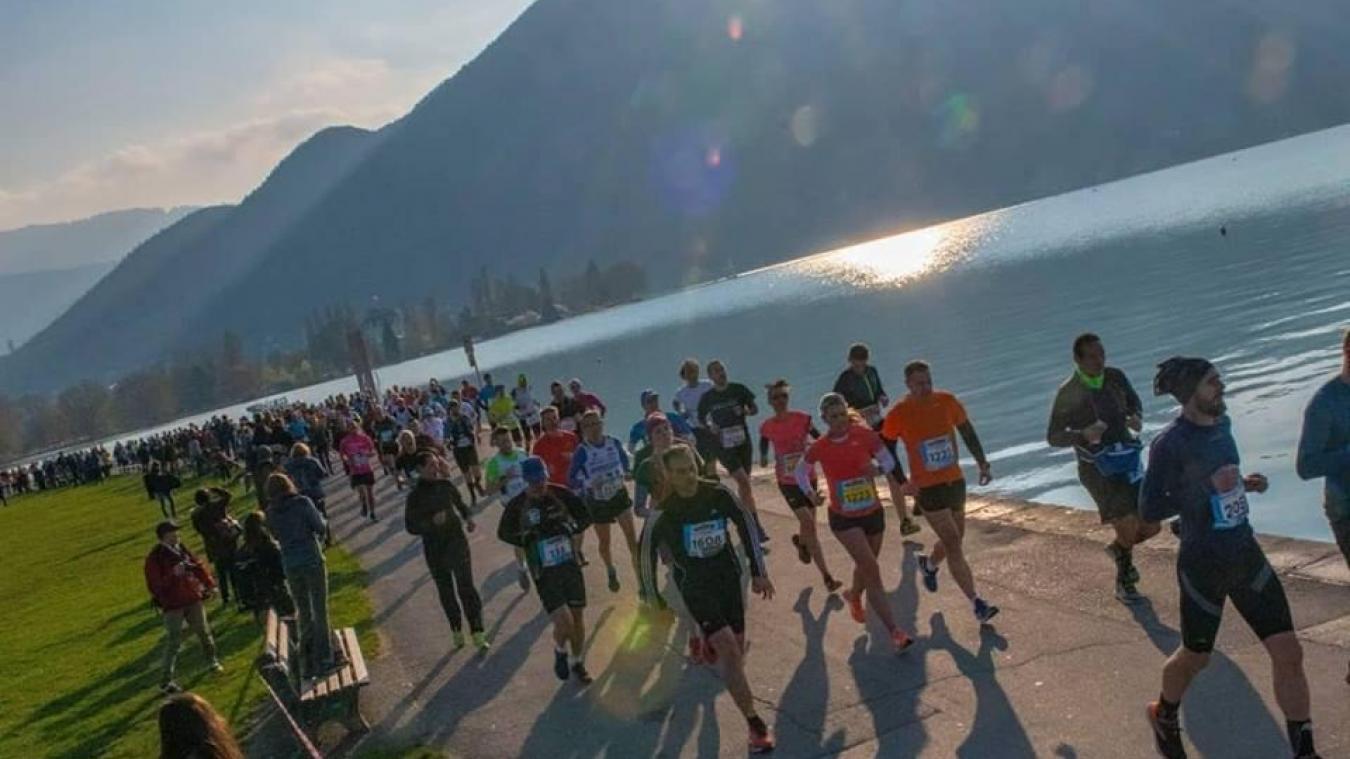 Annecy : le Marathon du Lac annulé et son patron sur le départ