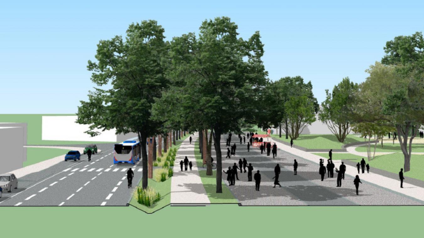 Le maire indique que face au 26 arbres abattus, il est prévu d'en replanter 173 surtout sur la promenade de l'avenue Fontanet qui va être créée à la place des parkings et de la diminution de la largeur de la voirie.