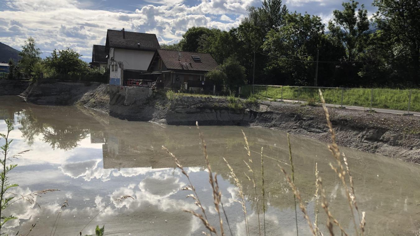 Quai du Bargy, un programme immobilier est prévu sur un terrain saturé en eau. Comment régler le problème ?
