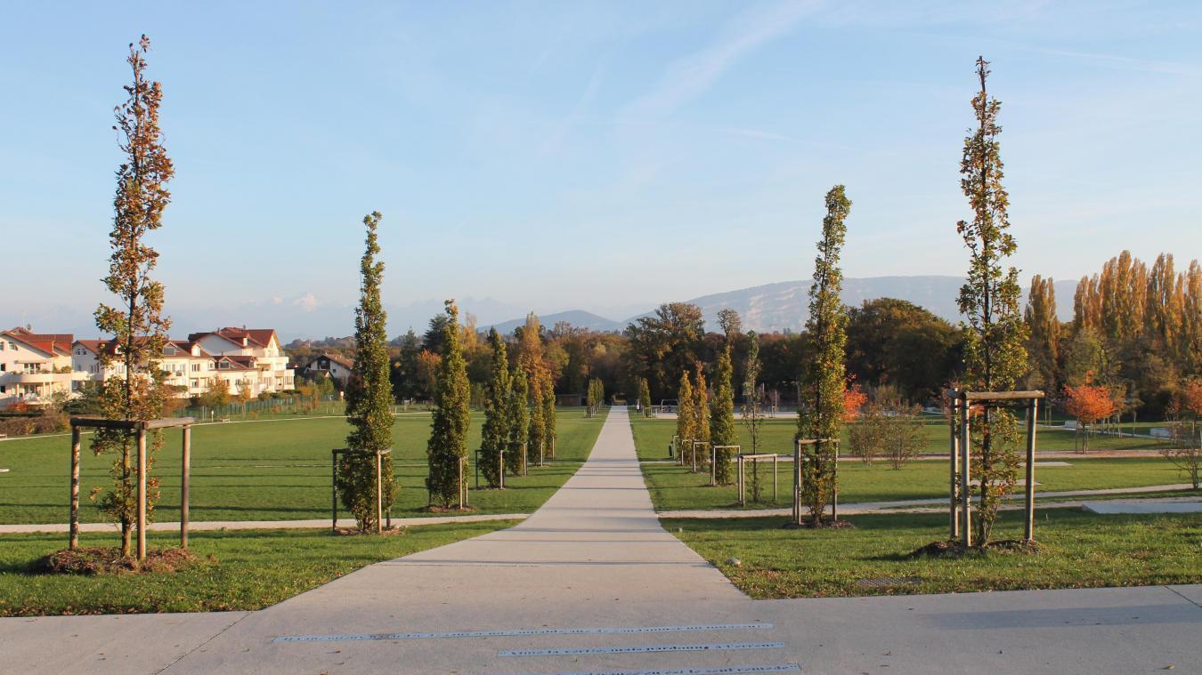 La sortie aura lieu au parc de la Tire à Ferney.
