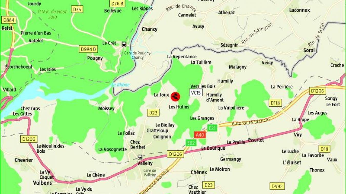Valleiry : grave accident de la route samedi soir